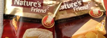 Natures Friend cheese cookies