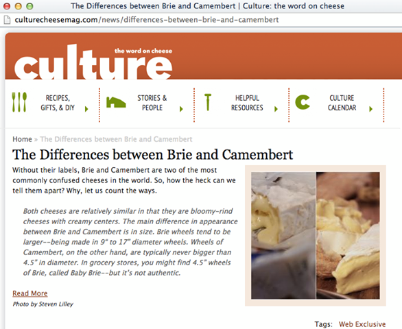 Culture Cheese Mag Feature