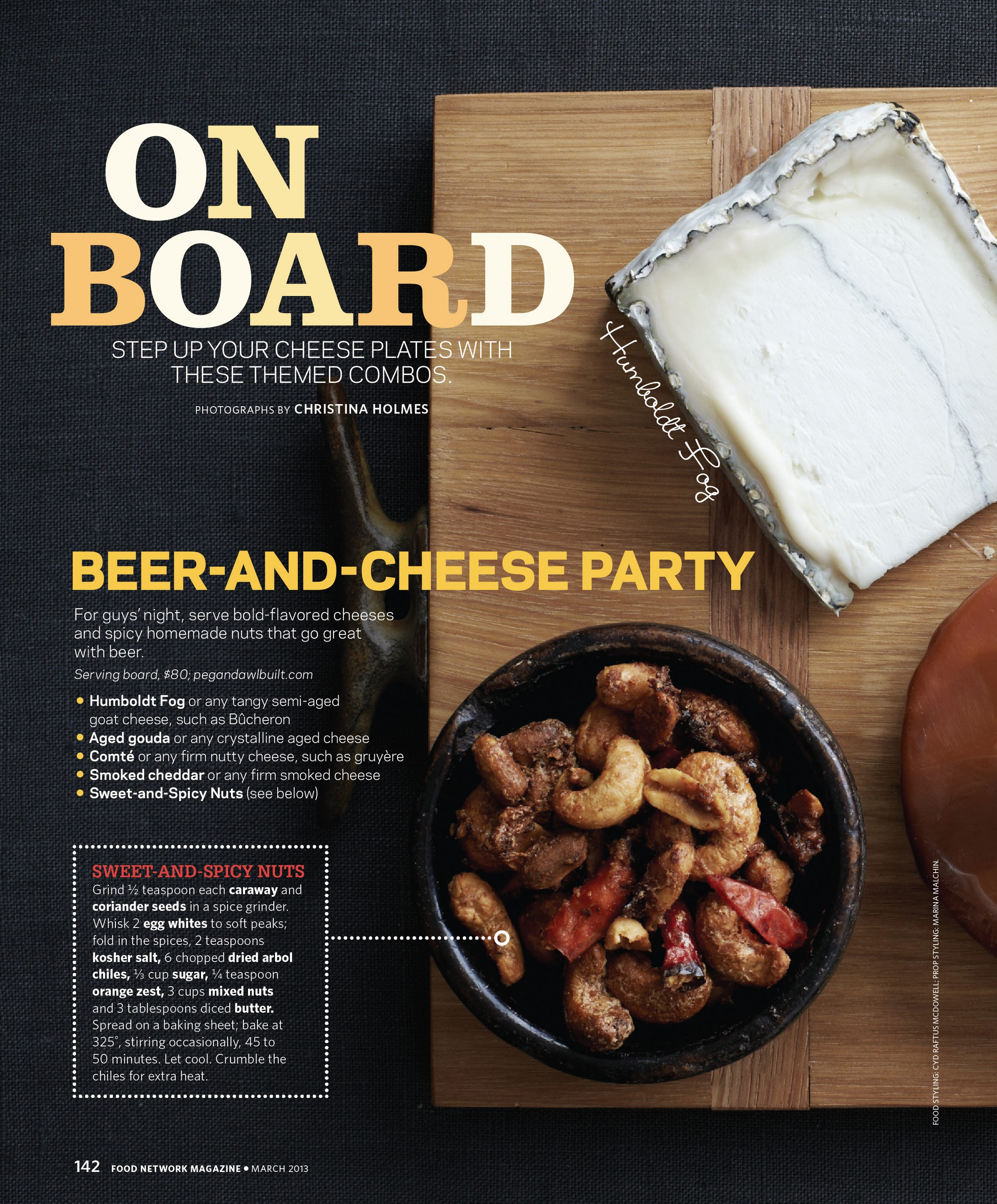 Cheese Board Ideas Pictures: Food Network Magazine: All-cheese Issue