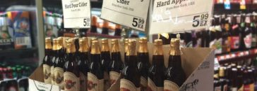 Hard cider at Whole Foods Market